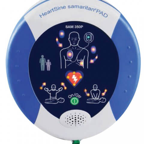 defibrillatore voltaggio