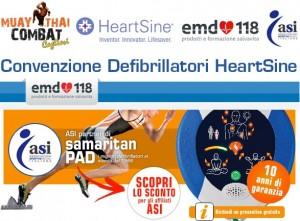 Convenzione defibrillatori Muay Thai Combat Cagliari - ASI Sardegna