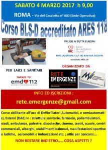 Corso BLS-D RETE EMERGENZE