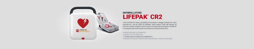 defibrillatore Physio-Control LIFEPAK CR2